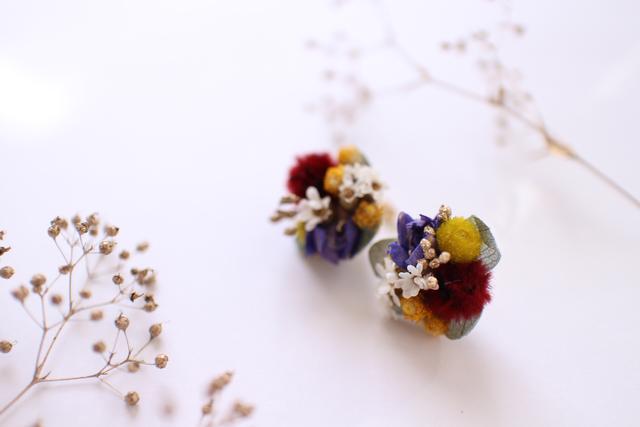 花の耳飾り Mode de  florales