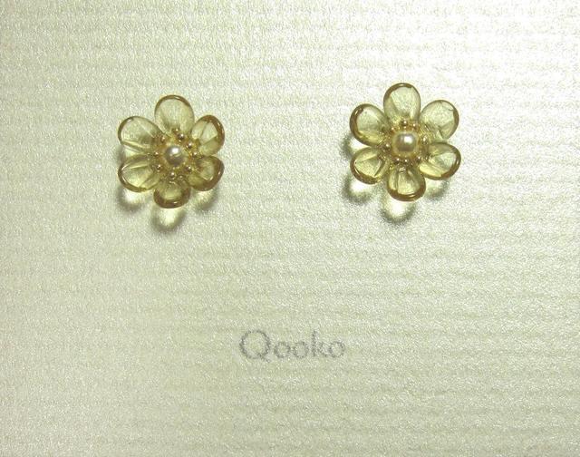 ガラスの花 (イエロー・ハナビラ6枚)