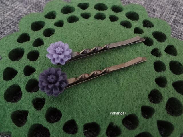 *お花のヘアピン*