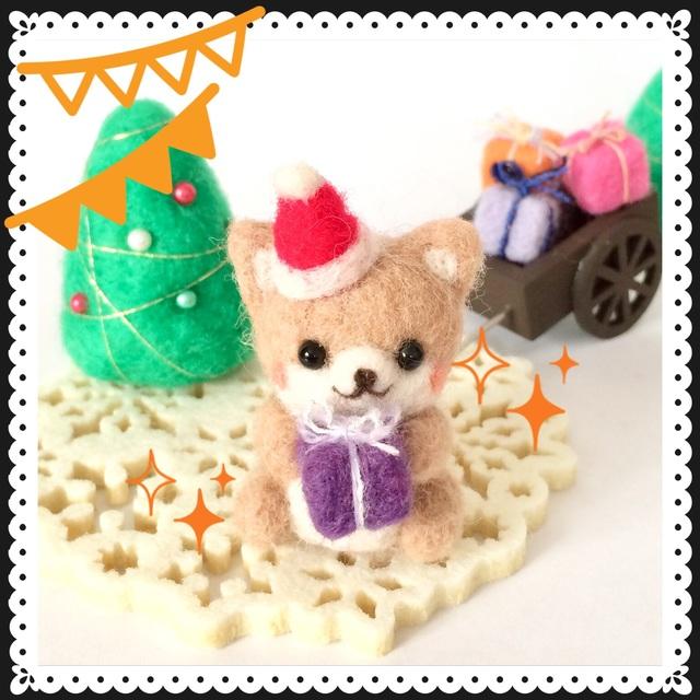 クリスマスプレゼントお届けセット☆柴犬☆