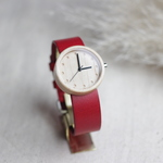 Maple / Red leather - 32