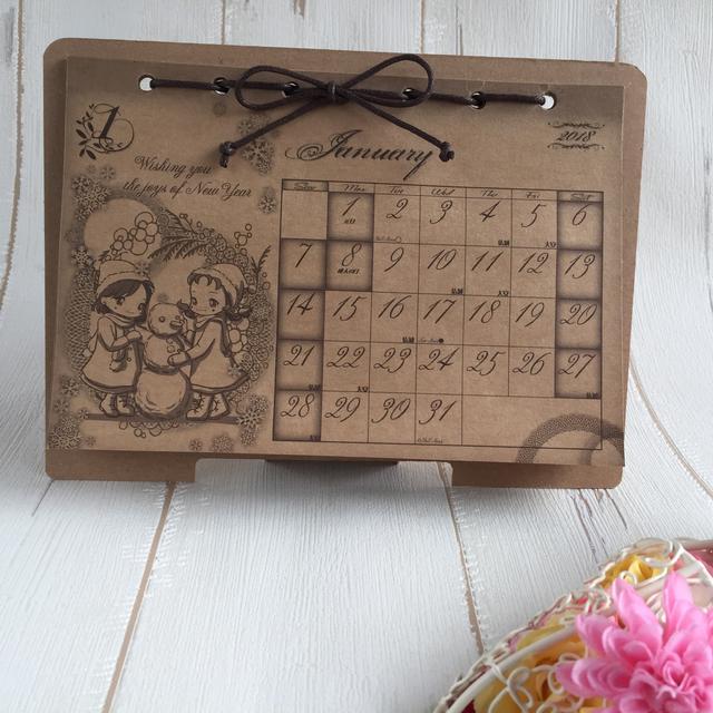 (★送料無料★)赤毛のアン卓上カレンダー
