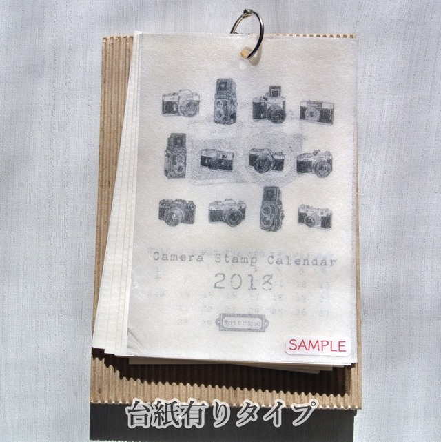 【送料無料】Camera Stamp Calendar 201...