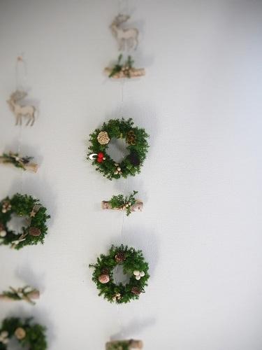 白樺のクリスマスガーランド・トナカイ...