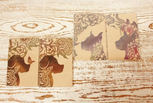 版工房「福」の木の年賀状