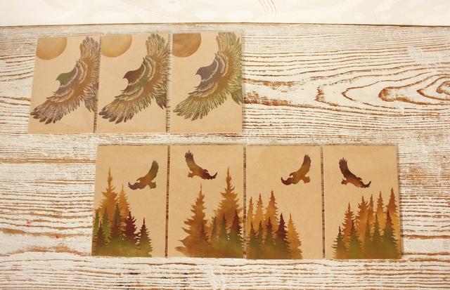 版工房「福」の木のポストカード