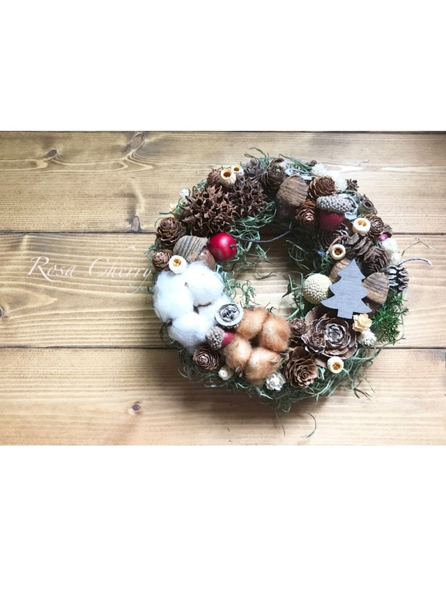 木の実いっぱいクリスマス