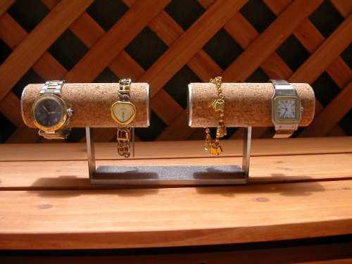 一文字4本掛け腕時計スタンド