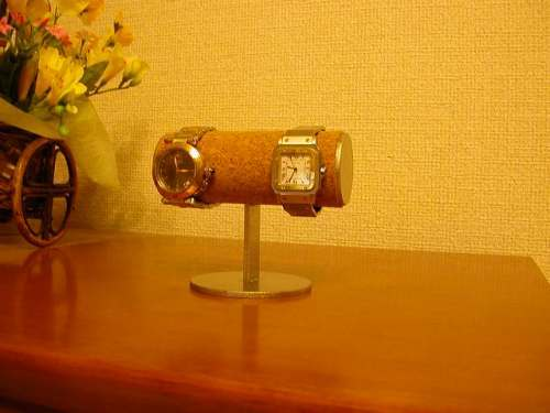 2本掛け腕時計ディスプレイ腕時計スタンド