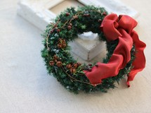 * christmas wreath *
