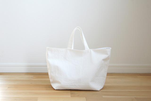シンプルトートバッグ(ホワイト)