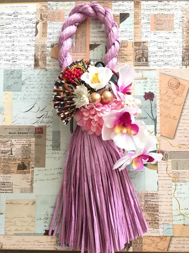 お洒落しめ縄◆モダン御正月飾り