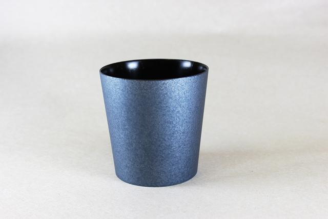 うつろいカップ クールブラック L/黒摺