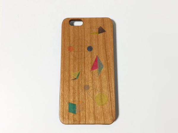 ウッド iphone5~X【ジオメトリ】スマホ...