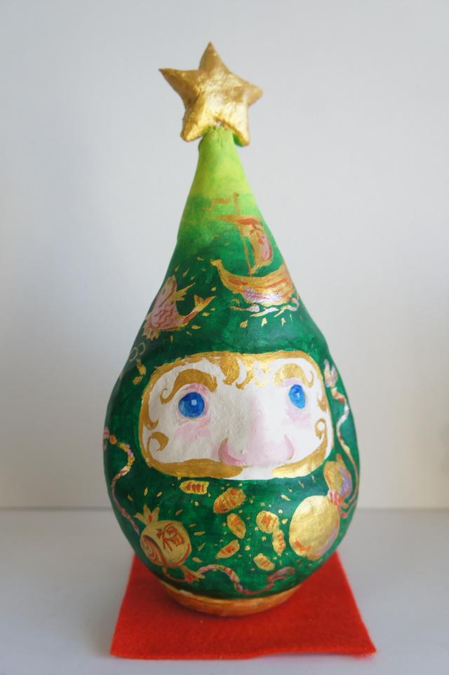 サンタルマ ツリー(張子)