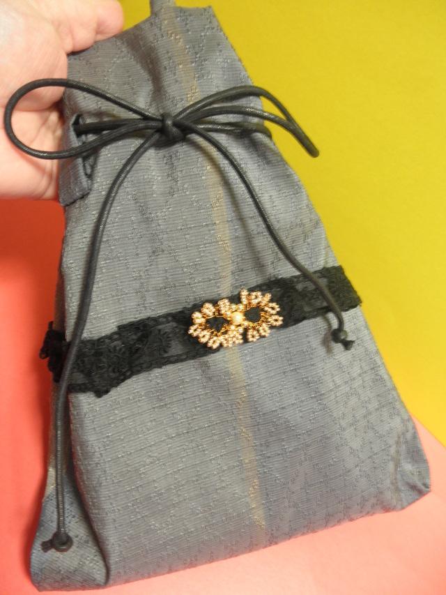 限定・手提げバッグ(沖縄伝統的織物)
