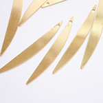 [8pieces]Gold metal plate