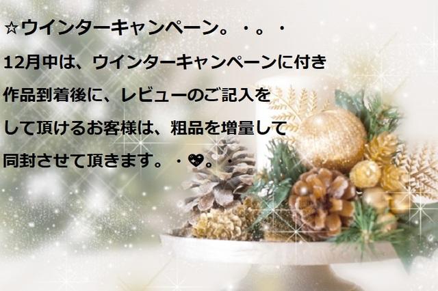 ☆2017年12月☆ウインターキャンペーン...