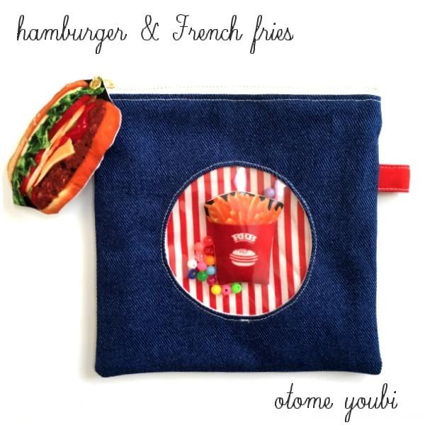 むふふっ♪ハンバーガー&フライドポテ...