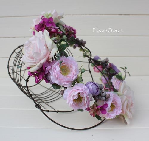 花かんむり +ピンク+ #13#
