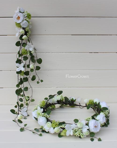 花かんむり +ホワイト+ #17#