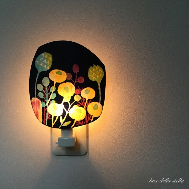 **  再販 Night Lamp*「Luce di fiori 」 〜 花の光〜」