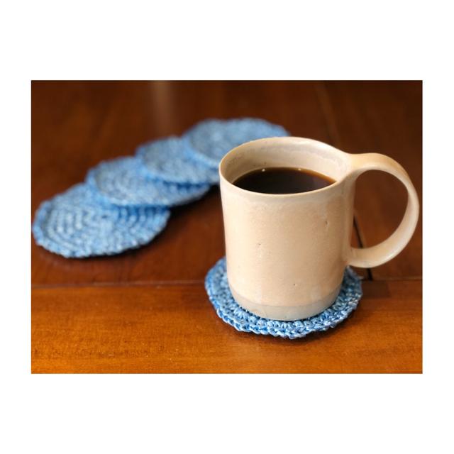 手編みコースター(送料込み)