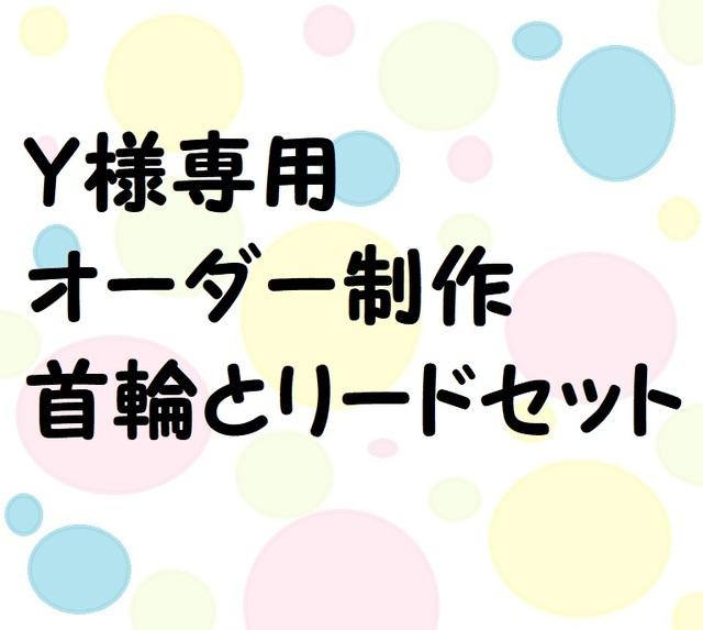 【オーダー制作】小型犬用のお散歩用リ...