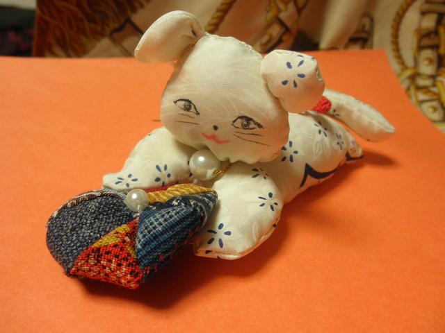 和の猫と和洋毬のインテリア
