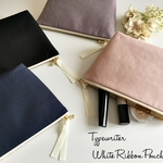 Typewriter White Ribbon Pouch*再…販