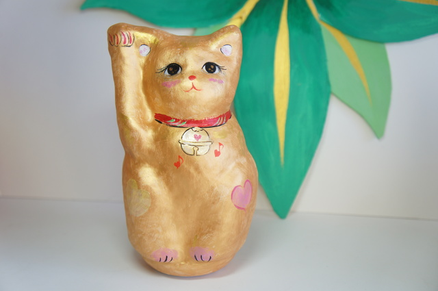 金ラブ招き猫