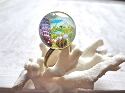 <SOLD> Seascape RIng Z
