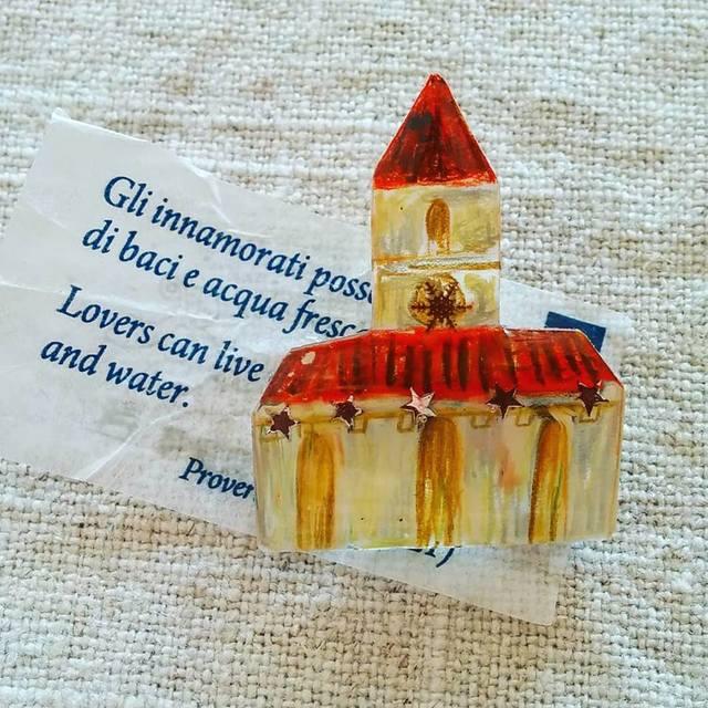 教会シリーズ 赤い屋根の教会2