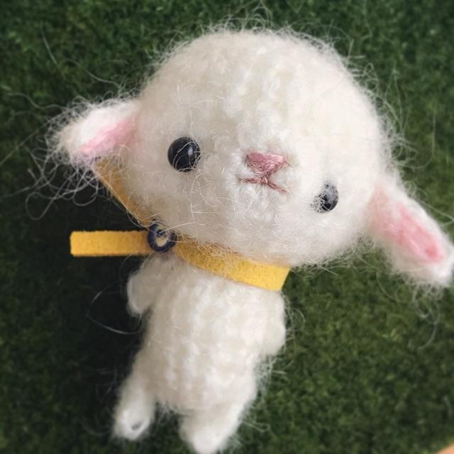 小さなあみぐるみ|羊