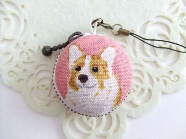 犬2種/ピンク系1/マカロンコインケース(...