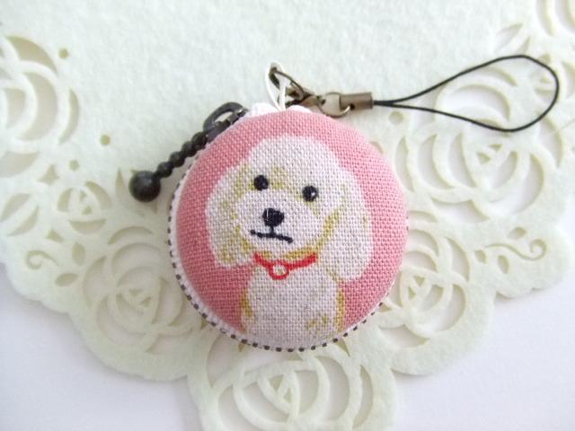 犬/ピンク系5/マカロンコインケース(マ...
