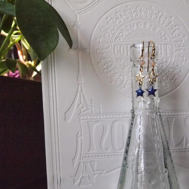 Two stars earrings