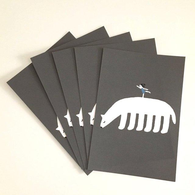 「Arabesque」POST CARD/5 sheet set