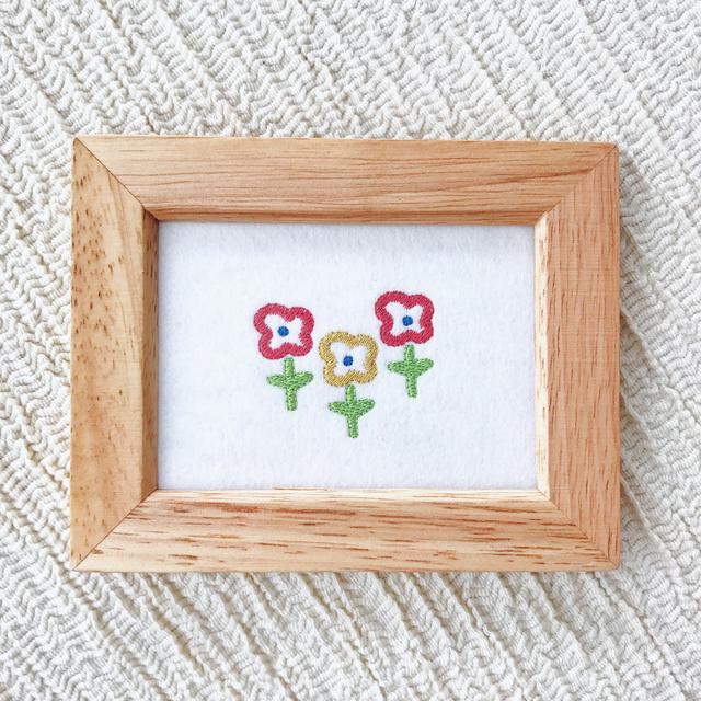刺繍フレーム(お花)