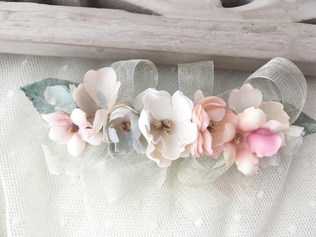 バレリーナバレッタ rose&violets