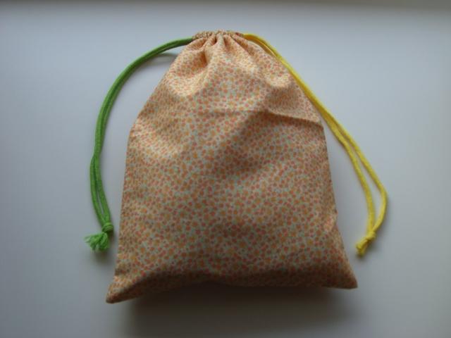 金木犀 巾着袋(マチなし)