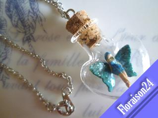 『ハート小瓶の妖精』グリーン