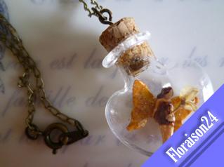 『ハート小瓶の妖精』ブラウン