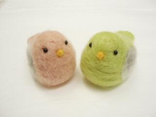 【再販】小鳥のマスコット(ペア7)