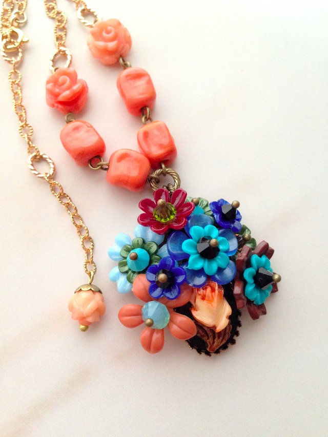 SALE!花束ネックレス*capucine
