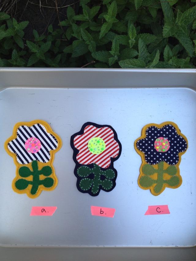 ブローチ Soleil〜ソレイユ〜 太陽に向かうお花のブローチ
