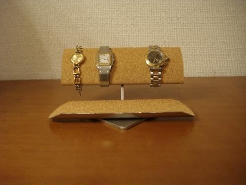 腕時計スタンド 腕周り太い方用ウォッチ収納スタンド ロングトレイ