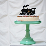 Steam Train Happy Birthday 汽車 ケーキトッパー