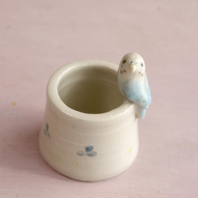 【m様ご注文分】小鳥のはんこたて 水...