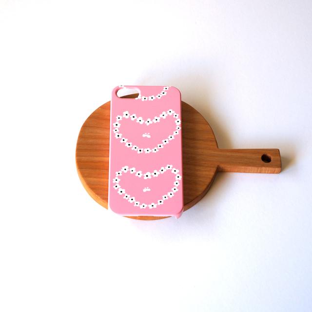 humming heart ( pink ) スマホケース ...